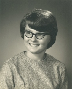 Marian's high school graduation picture