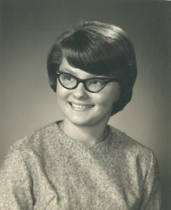 Marian's high school graduation picture