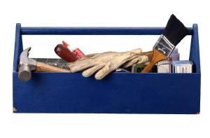 blue toolbox