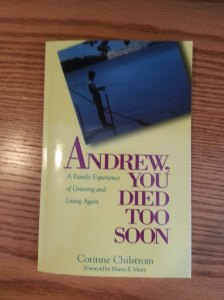 Andrew You Died Too Soon Book Cover