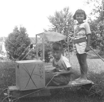 We also built go-karts.