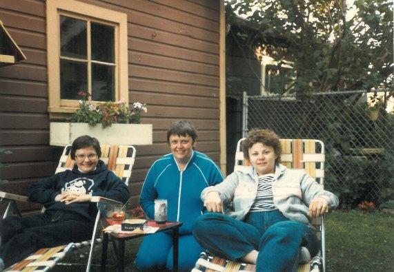 1984:  Marian, Mim, and Marilyn