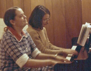 Mim and I have always enjoyed making music together.