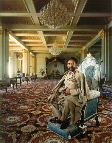Haile Selassie, emperor of Ethiopia from 1930 to 1974.
