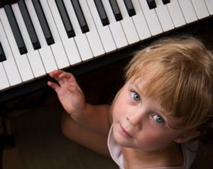 child playing piano 2