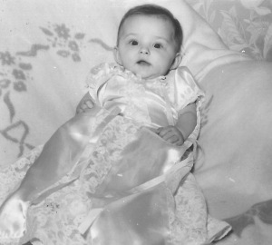 I'm sure my baptismal dress is the fanciest dress I've ever worn.