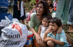 World Vision - Typhoon help