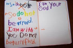 Michelles kids Bible encouragement