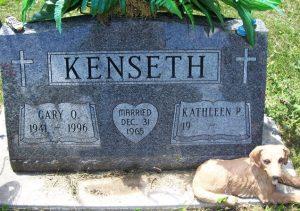 Gary Kenseth grave stone