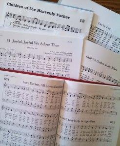Hymns - portrait