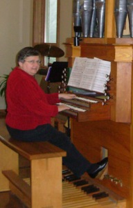 Marian at Messiah organ 4