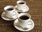 coffee - 3 cups