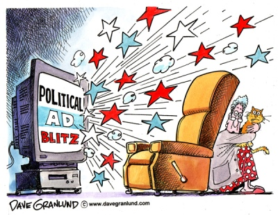 political ad cartoon