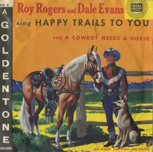 Roy Rogers record cover