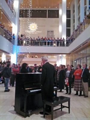Caroling in Overture Center