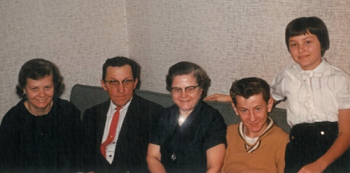 Family portrait, about 1960