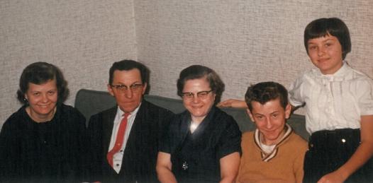 Family Portrait - about 1960