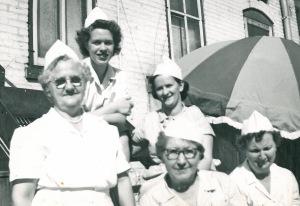 Grandma - Eva - waitresses
