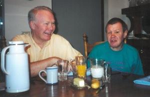 Henry Hall and Bob Spaulding