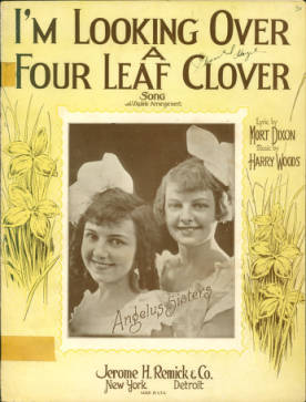 4 leaf clover sheet music 1927