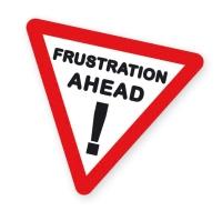 Frustration sign