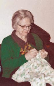 My mom kept crocheting baby afghans until just weeks before she died.