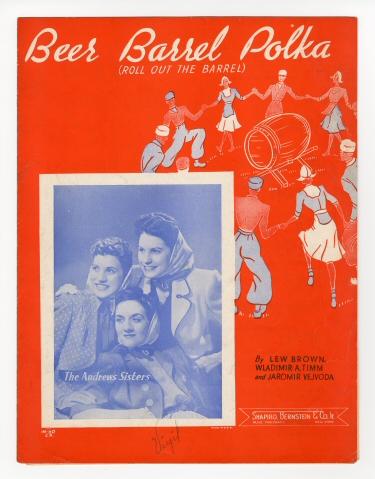 Beer Barrel Polka sheet music