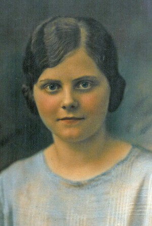 Elsie Kenseth Korth as a young woman