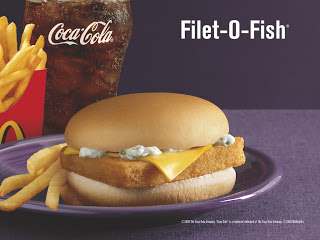 McDonalds Filet-of-Fish Meal