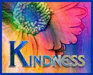 Kindness - colorful flower