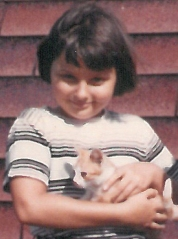 Marian and kitten