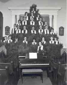 Singing Xmas Tree 1964